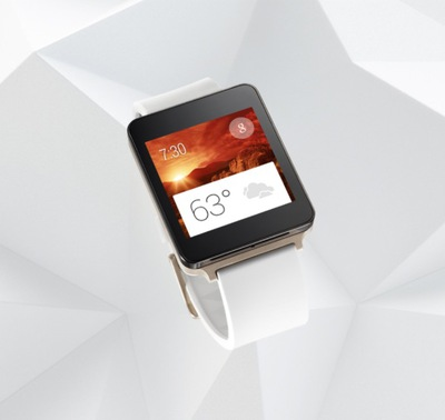 LG G Watchの白モデル