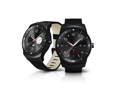 円形ディスプレイのG Watch R