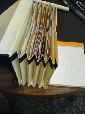 図1 ロディアNo.11とモレスキン・メモポケッツ