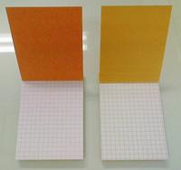 紙質や方眼の色が若干異なる