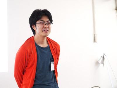 キーボーとスピーチをつとめた産業技術総合研究所の加藤淳さん