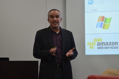 Xilinx クラウドコンピューティング担当 ストラテジックマーケットデベロップメント ディレクター アンディ・ウォルシュ氏