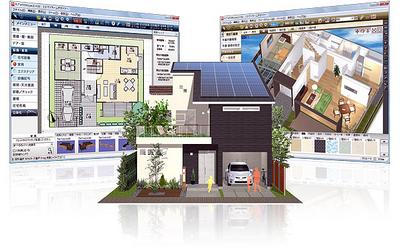 図1-2 「3DマイホームデザイナーLS3」で作成できる図のイメージ