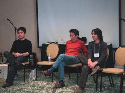 村山 尚武さんや梅田 望夫さん,江島 健太郎さんをはじめ豪華なメンバーが講師として参加していました