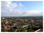 スタンフォード大学内にあるフーバータワーからの眺め