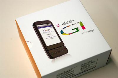 写真1 Google G1の外箱