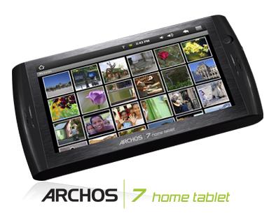 取り上げたタブレットの中ではアプリが充実していそうなARCHOS 7。