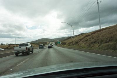 自分の中にある「これぞアメリカの道」って雰囲気になると,社長が住むカポレイの街に到着。