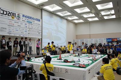 2011年のチャンピオンシップ大会の模様