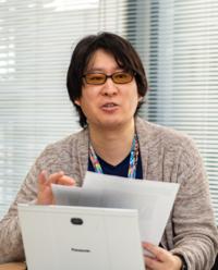 写真1 OTT推進準備室 室長 宮崎賢一氏