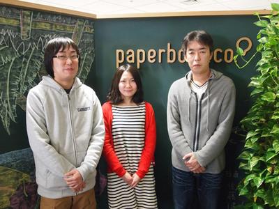 写真1 左から福田さん,飯塚さん,野口さん