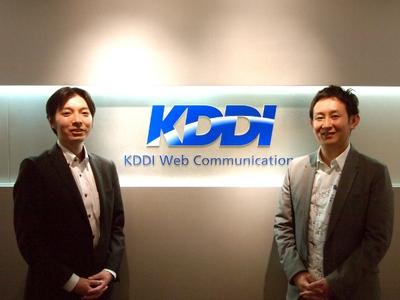 高畑氏(右)と西村氏(左)