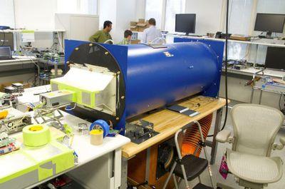 写真A 冷却効果検証用の風洞