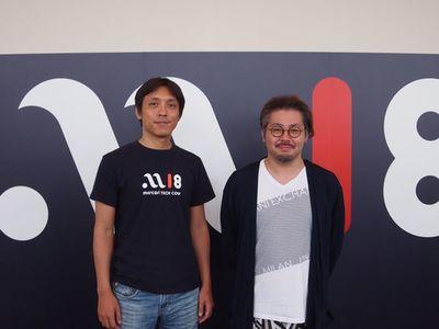 名村卓氏(左)と是澤太志氏(右)