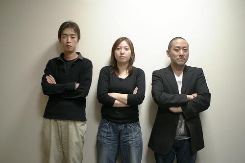 開発チーム:残酷トリオ(福田大介・飯田直子・家入一真) 「ひとこと、つぶやき……いえいえ,時代は