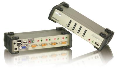 日本語OSD搭載KVMPスイッチ「CS1734B」