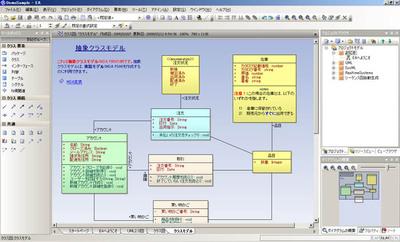 Enterprise Architect最新版バージョン7.1の画面