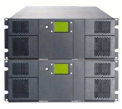 LTOテープライブラリ「StorageLibrary」T80+の構成例