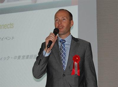 SDL Tridion アジアパシフィックおよび中東営業担当バイスプレジデント ハンズ・ド・グルート氏