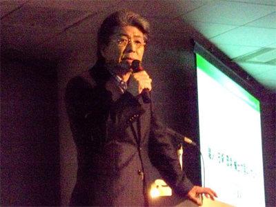 鳥越俊太郎氏による特別講演