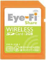 Eye-Fi Shareカード