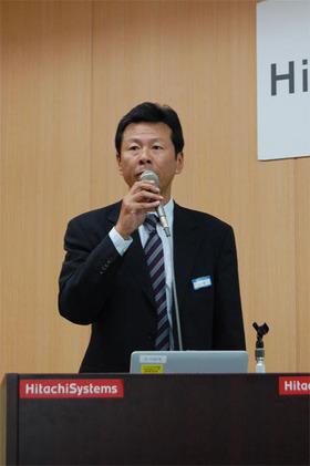 (株)日立システムアンドサービス プロダクトソリューション本部 ドキュメントソリューション部長 三原 丈英氏