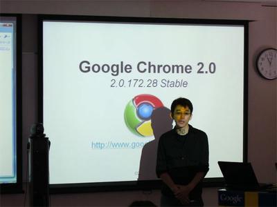 プレゼンターを務めたGoogle 及川卓也氏