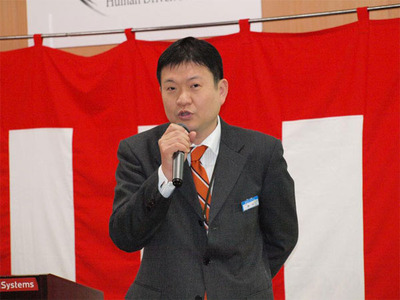日立システムアンドサービス セールスプロモーション部部長 野中秀弥氏