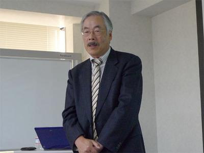 福安氏の就任と入れ替わりにジャパンディレクタを退任した工内 隆氏も挨拶。当面はアドバイザーとしてLFの活動を支えることとなった。