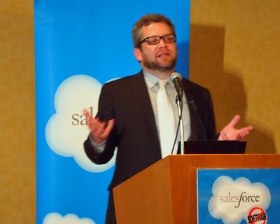米Salesforce.com,Senior Vice PresidentのByron Sebastian氏