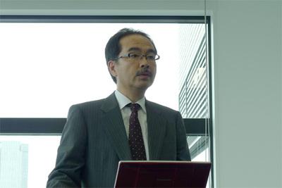 SRA OSS, Inc. 日本支社 支社長 石井達夫氏