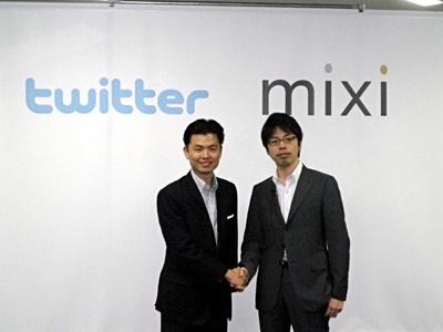 日本国内に根差した情報・コミュニケーションインフラを目指すことを誓う,笠原氏(右)と近藤氏(左)