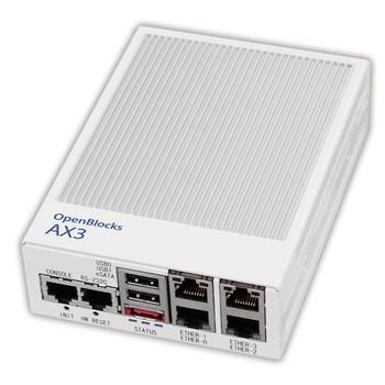 OpenBlocks AX3シリーズ(Ethernet 4ポートモデル)