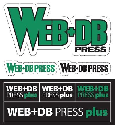 『WEB+DB PRESS』&「WEB+DB PRESS plus」のロゴをあしらった特製ステッカー