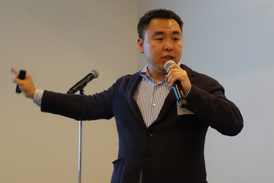 「TREASURE CDP」を紹介する米国Treasure Data CEO,芳川裕誠氏