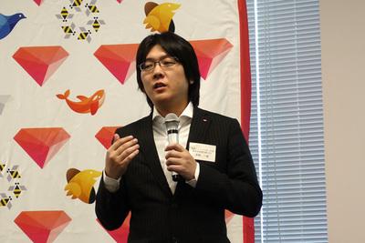 新機能について説明を行う米国Treasure Data CTOの太田一樹氏