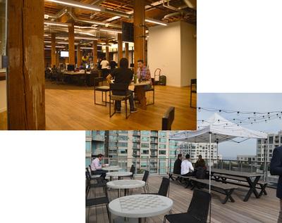 サンフランシスコ市内にあるGitHub本社。1Fから屋上に至るまで,すべてのフロアがデベロッパネイティブに作られている。セクハラ事件以来,あらゆる人種や性別を配慮したダイバーシティな構成になっているのも特徴