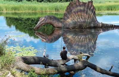 ポスター02 スピノサウルス