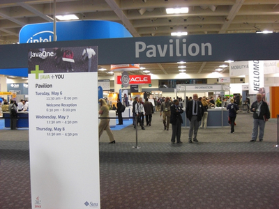 写真4 JavaOne Pavilion入口風景