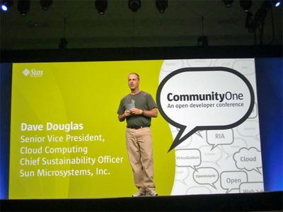 写真 Sun Microsystems, Inc. Cheif Sustainability OfficerのDave Douglas氏