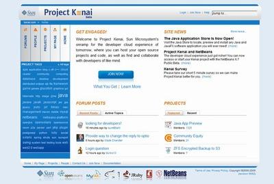 写真2 Project KenaiのWebページ