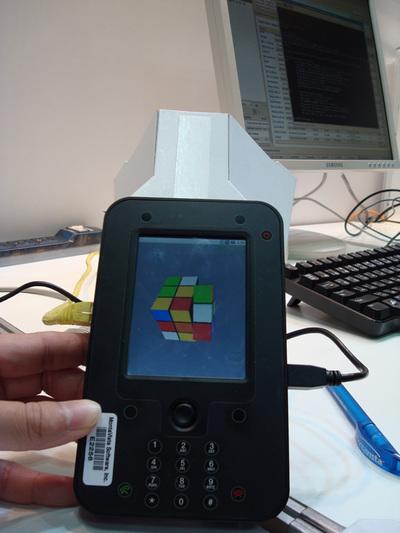 写真2 Google Androidデモ