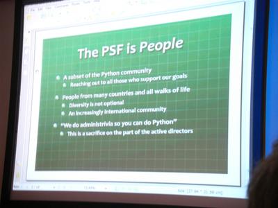 PSFミーティングのスライド