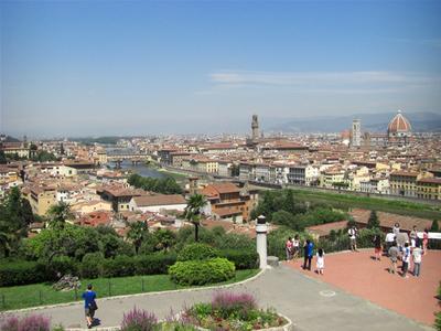 フィレンツェ市街の展望