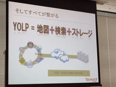 YOLP=地図+検索+ストレージ