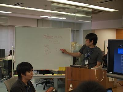 写真4 id:r_kurain氏による「はてなのデータで検索エンジンを作る」