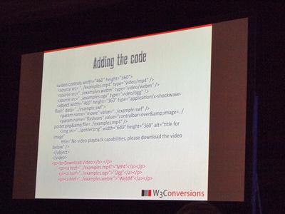 video要素を利用するときの追加記述。複数の対象デバイスに対応できるようになる