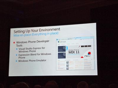 無償ツールを組み合わせることでWindows Phone 7のネイティブアプリ開発が行える
