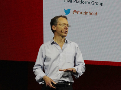 Oracle, Chief Arhitect Java Platform Group, Mark Rainhold氏