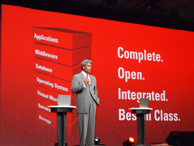 「Complete.」「Open.」「Integrated」「Best in Class.」これが今のOracleを表している。
